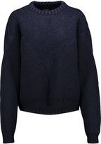 Isabel Marant Chase paneled wool-blend sweater