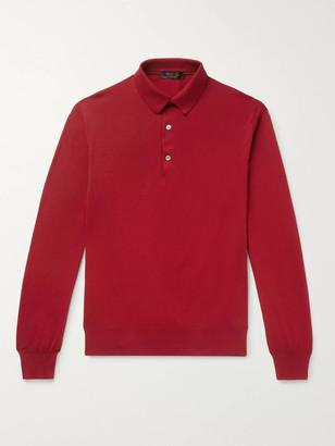 Loro Piana Knitted Cotton Polo Shirt