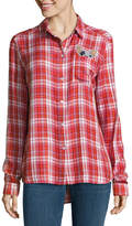 i jeans by Buffalo Plaid Patch Shirt