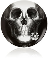 "Fornasetti Skull With Flower"" Plate"