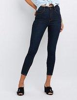 Charlotte Russe Refuge High-Rise Skinny Jeans