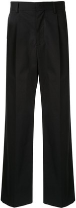 MSGM concealed front fastening trousers