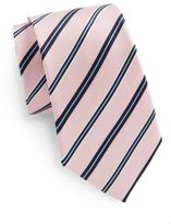 Saks Fifth Avenue Boxed Striped Silk Tie