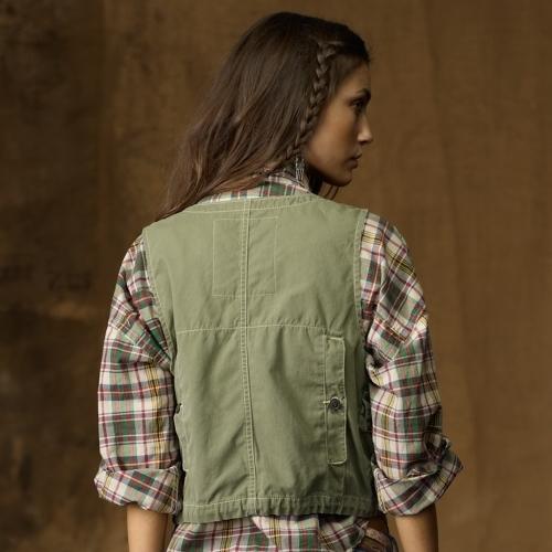 Denim & Supply Ralph Lauren Fishing Vest
