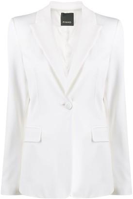 Pinko Single-Button Tailored Blazer