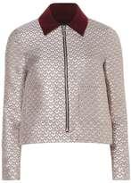 Dorothy Perkins Floral Jaquard Collar Jacket