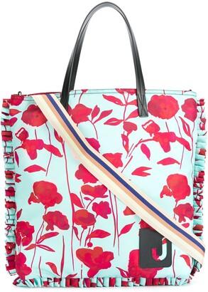 La DoubleJ Floral-Print Shopping Bag