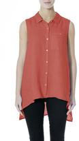 Jump Linen - Sleeveless Shirt