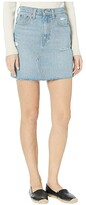 Levi's Womens Womens High-Rise Decon Iconic Skirt (Rack and Ruin) Women's Skirt