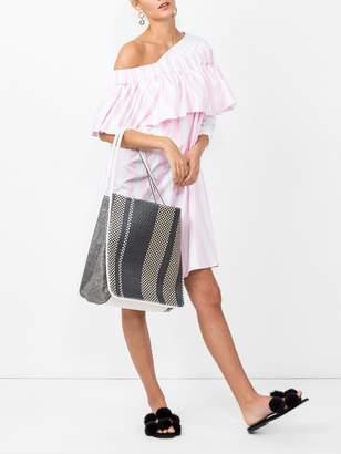 Maison Rabih Kayrouz off the shoulder woven dress pink