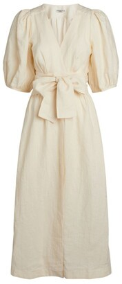 Three Graces Fiona Puff-Sleeved Dress