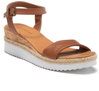 Zigi Imogene White Sole Sandal
