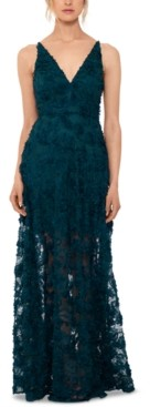 Xscape Evenings Floral Lace Gown