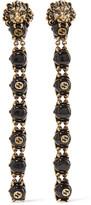 Gucci Gold-tone Bead Clip Earrings