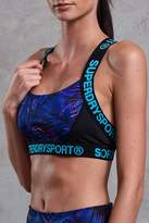Superdry Colourblock Printed Bra