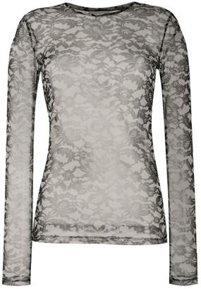 Dries Van Noten Lace Print Hostoni T-shirt