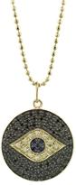 Sydney Evan Evil Eye Disc Necklace