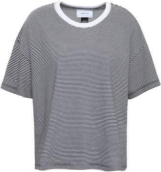 Current/Elliott Striped Cotton-blend Jersey T-shirt