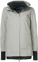 Herno padded lining hooded coat