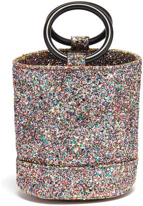 Simon Miller 'Bonsai 15cm' coarse glitter bucket bag