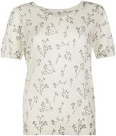 Woolrich T-shirt With Print Tee In White Cotton