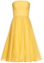 Alexander McQueen Strapless silk-crepe organza gown