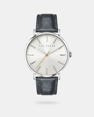 Ted Baker PHYLE Embossed Croc Strap Watch