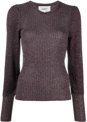 BA&SH Ribbed Knitted Jumper