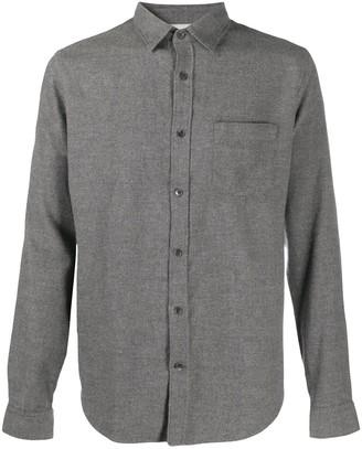 Closed Plain Button Shirt