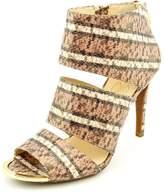 Jessica Simpson Elsbeth Women US Size 7 Brown Faux Leather Heels
