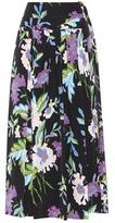 Diane von Furstenberg Ring silk skirt