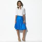 Minnie Silk Bias Skirt
