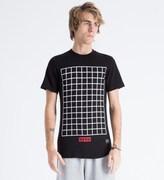 Hero's Heroine Black Grid T-Shirt
