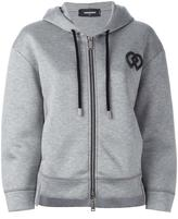 DSQUARED2 DD detail hoodie - women - Viscose - XS