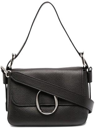 Orciani Soho leather shoulder bag