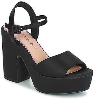 Coolway CRYS women's Sandals in Black
