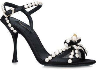 Dolce & Gabbana Christmas Pearl Heels 90