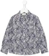 Simple leaf print shirt