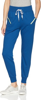 2xist Women's Jogger Pant with Zipper Detail Pockets