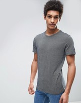 Selected T-Shirt with Textured Detail