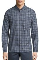 John Varvatos Plaid Button-Down Shirt