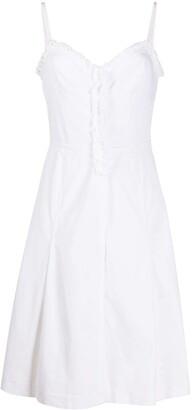 Prada Pre Owned 1990s A-line dress