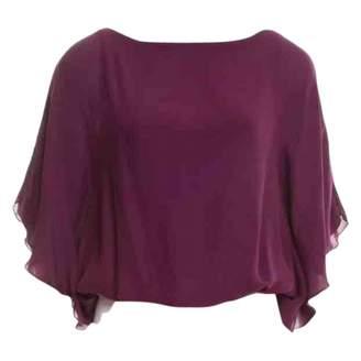 Alice + Olivia Alice & Olivia Purple Silk Top for Women