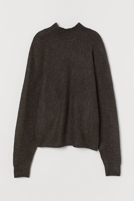 H&M Fine-knit Sweater - Brown