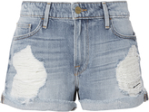 Frame Le Grand Garcon Destroyed Jean Shorts