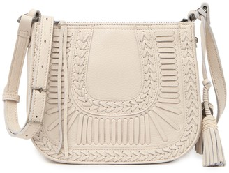 The Sak Collective Canyon Leather Saddle Bag