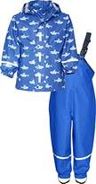 Playshoes Boy's Waterproof Rainsuit Sharks Raincoat
