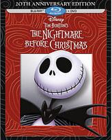 Disney Tim Burton's The Nightmare Before Christmas Blu-ray + DVD
