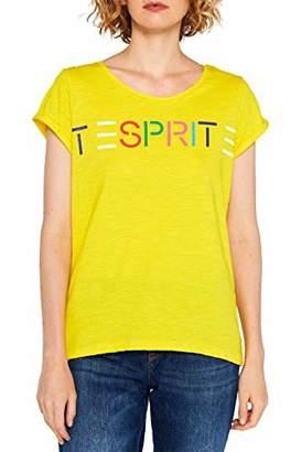 Esprit Women's 099ee1k065 T-Shirt,X-Small