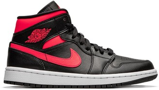 "Jordan Air 1 Mid ""Siren Red"" sneakers"